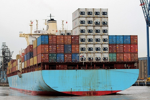 Creation of the Sea Freight Department